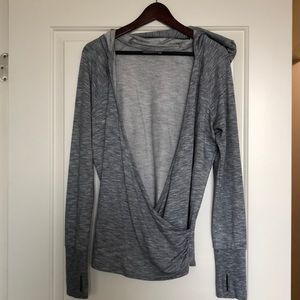 Athleta after workout cover up